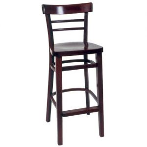 small ladderback stool