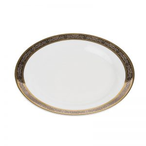 Cotillion Platinum with Gold Luncheon Plate 10